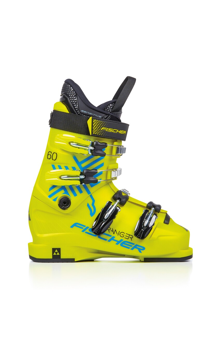 FISCHER RANGER 60 THERMOSHAPE YELLOW/YE - Kinder