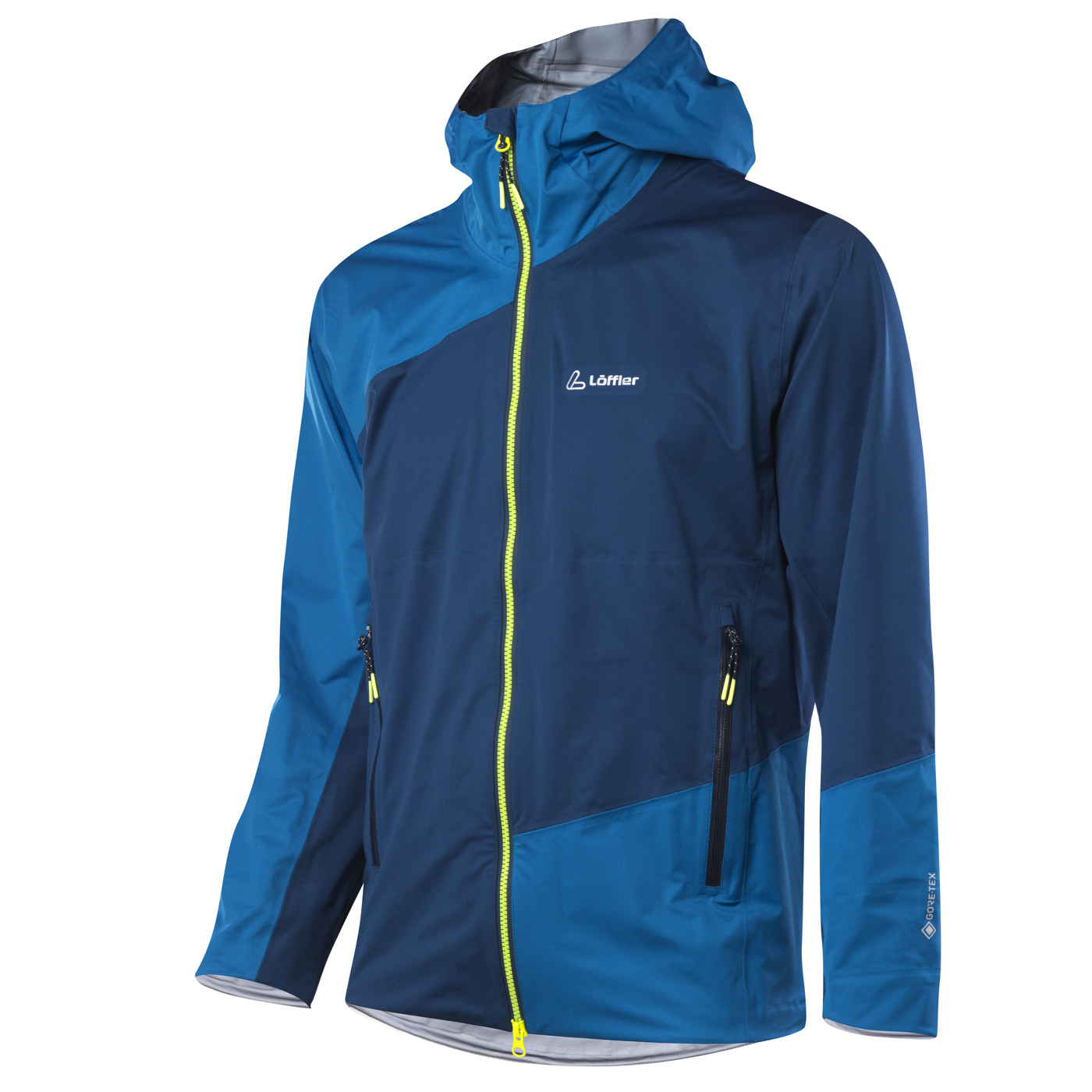 LÖFFLER M HOODED JACKET GTX ACTIVE - Herren