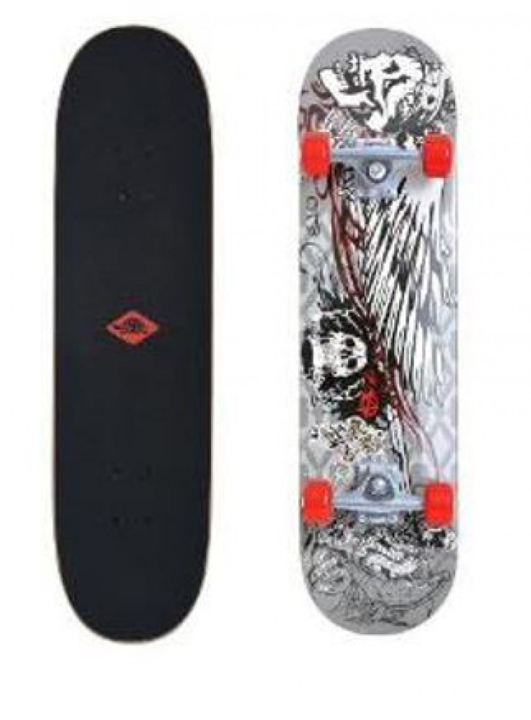 "SCHILDKRÖT Skateboard KICKER 31"""