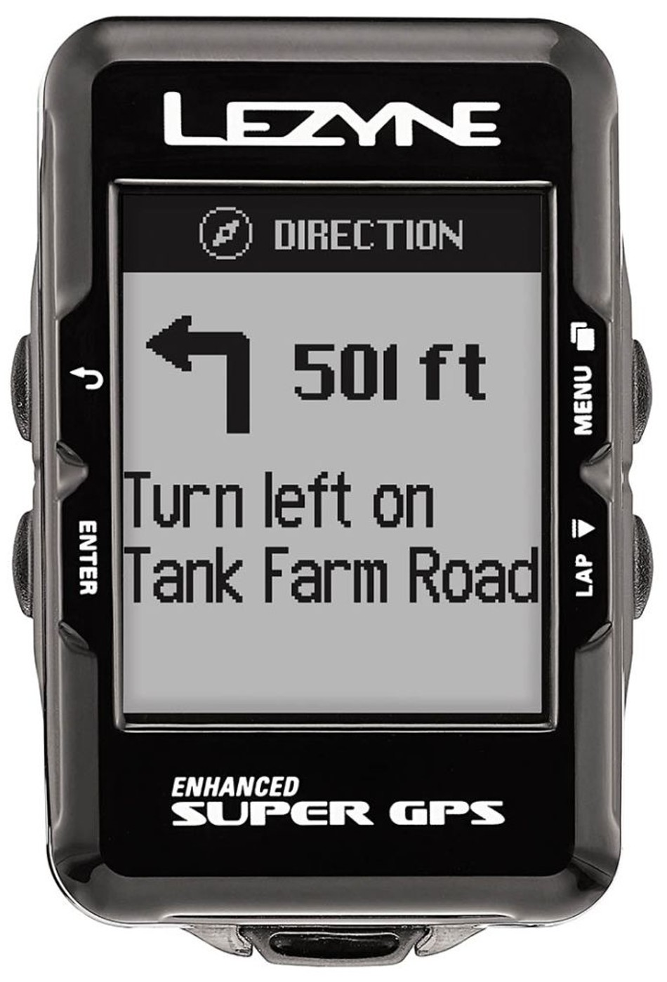 LEZYNE Radcomputer SUPER GPS schwarz