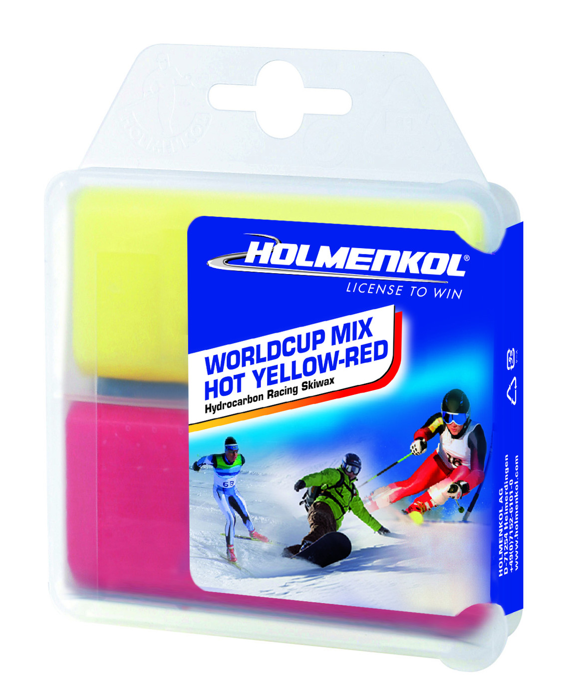 HOLMENKOL Basewax Mix HOT Alpha-Beta