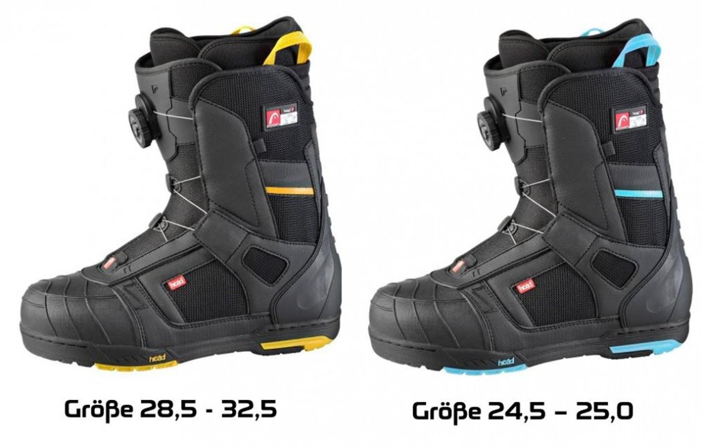 HEAD Rent-Snowboard-Boot 500 4D BOA - Herren