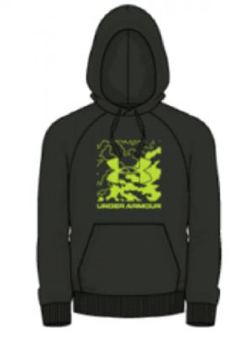 UNDER ARMOUR UA Rival Fleece Box Logo HD - Herren