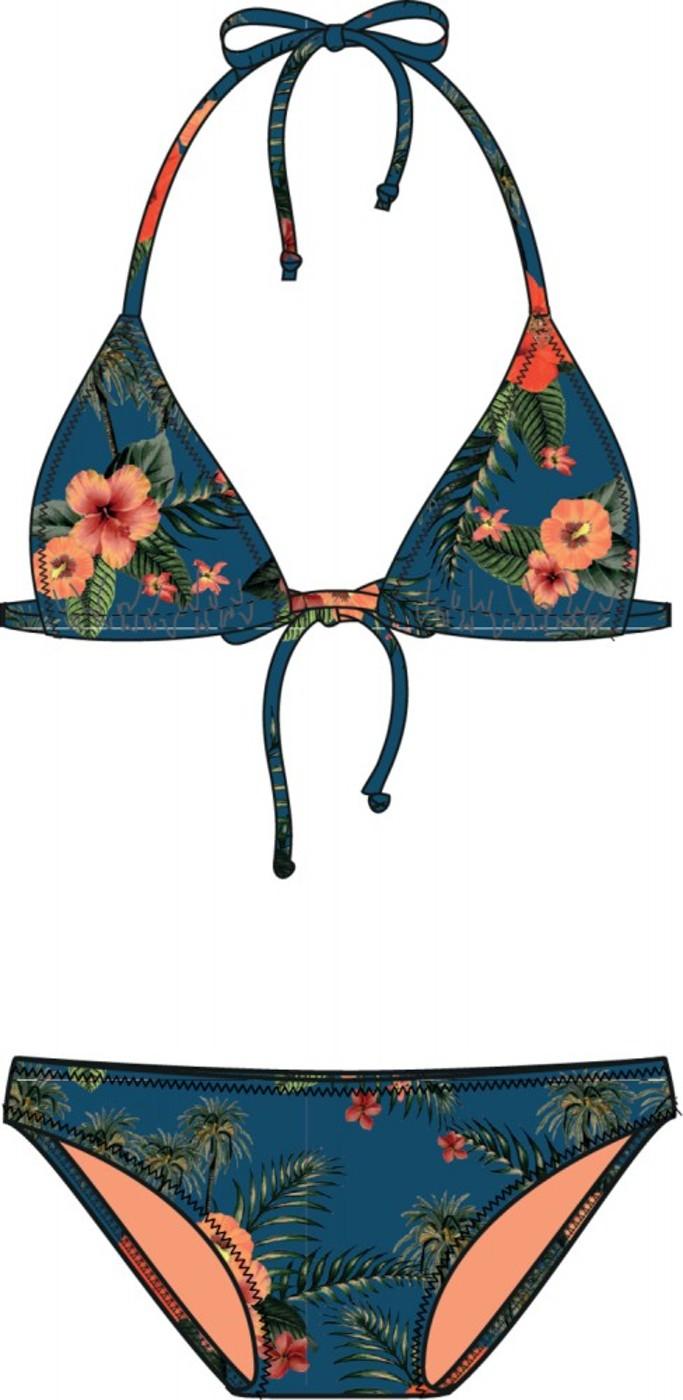 BRUNOTTI Lollypop-Flower Womens Bikini - Damen