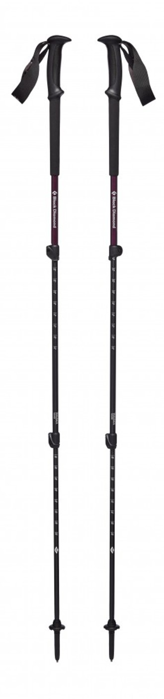 BLACK DIAMOND TRAIL BACK TREK POLES